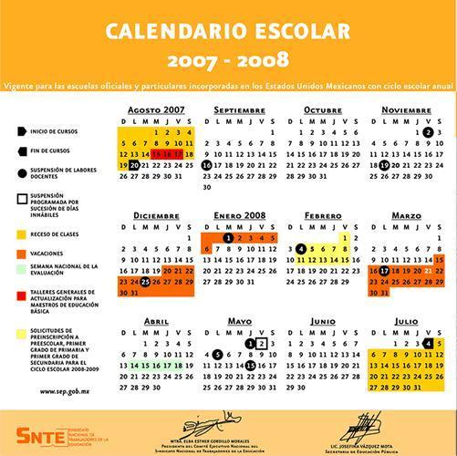 Image Calendario Escolar 2007 Image Search Results Picture Download