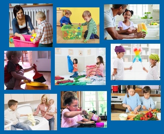 Nuestros hijos edad apropiada para las tareas dom sticas for Universo del hogar